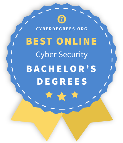 Best online Cyber Security Bachelor's degree badge icon